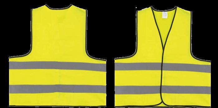 Veiligheidsvest | M en XL | 204710 Fluor geel