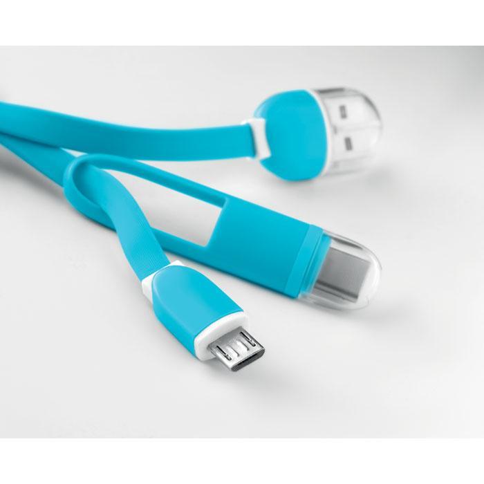 Sleutelhanger met USB en micro-USB   8798887