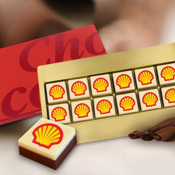 Logo chocolade gift box 12 stuks | 7051002
