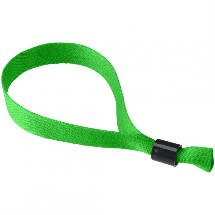 Polyester polsbandje | 170 x 15 mm | | Éénrichting veiligheidssluiting | 92102479 Groen
