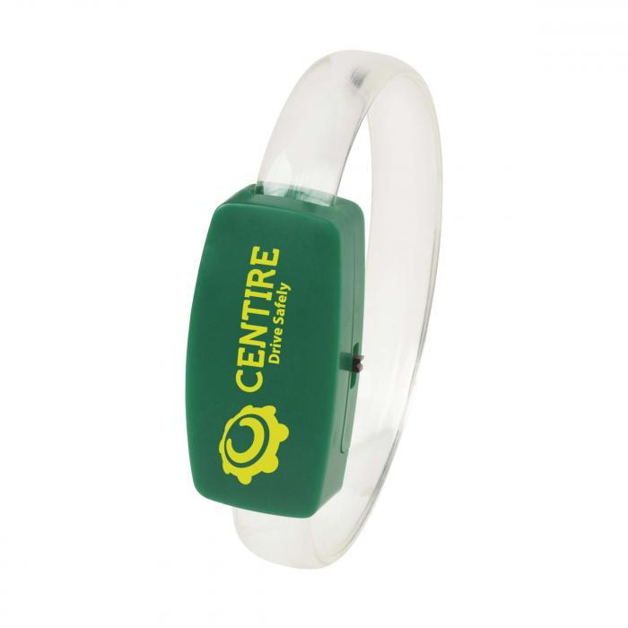 Glow armband | 70 x 21 mm | Kunststof | 734331 Groen