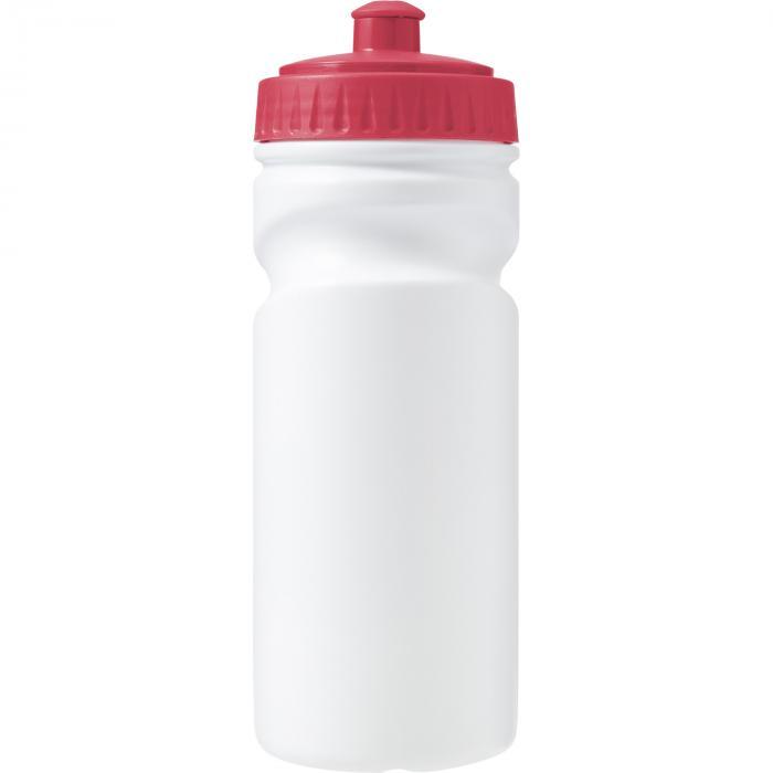 Recyclebare kunststof drinkfles | 500 ml | Snel | 8037584 Rood