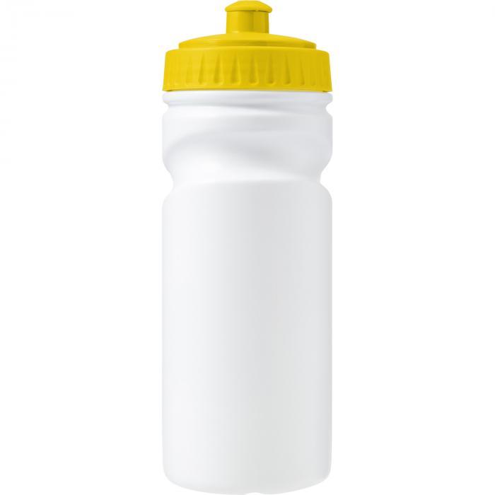 Recyclebare kunststof drinkfles | 500 ml | Snel | 8037584 Geel