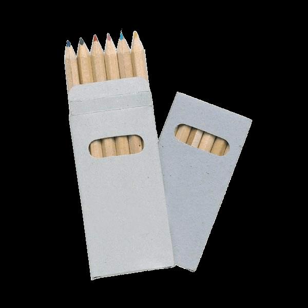 Kleurpotloden | 6 stuks | In doosje | 8752478