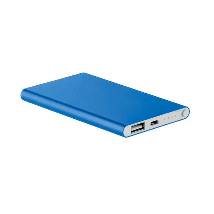 Powerbank | Slim | 4000 mAh | 8798735 Blauw