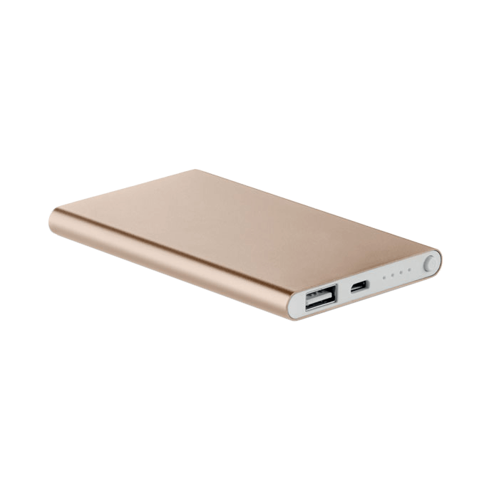 Powerbank | Slim | 4000 mAh | 8798735 Champagne