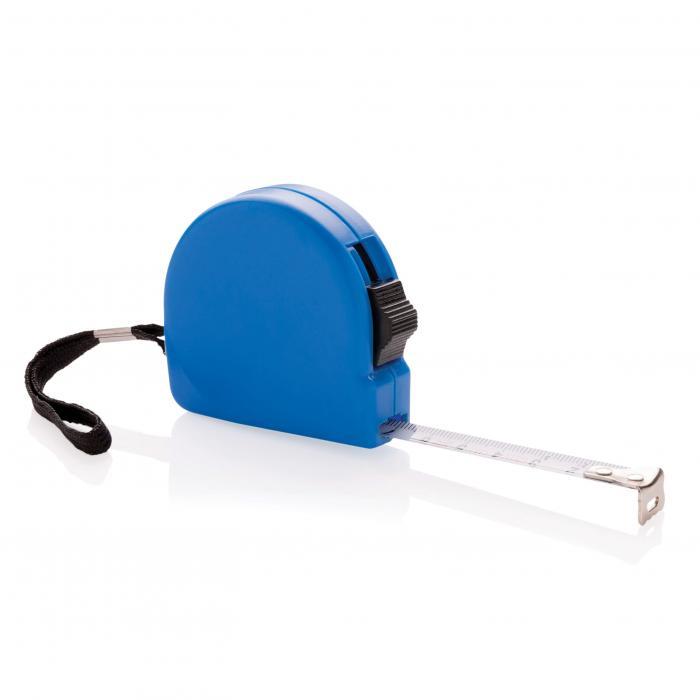 Rolmaat | ABS | 3 meter lint | 8811234X Blauw