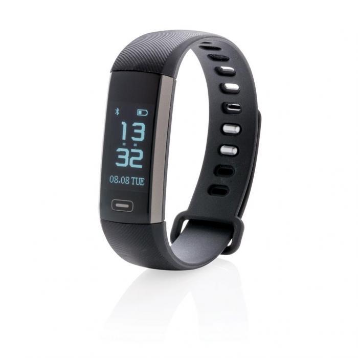 Activity tracker met bloeddrukmonitor | 88330641 Zwart