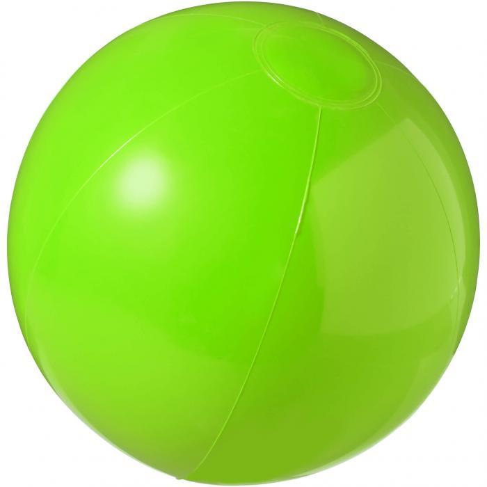 Strandbal | 25 cm | Vrolijke kleuren | 92100371 Groen