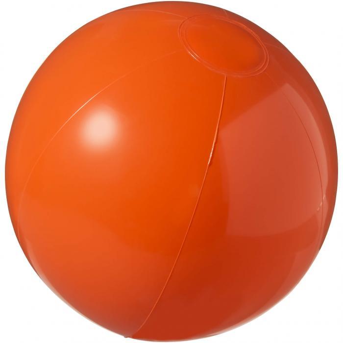 Strandbal | 25 cm | Vrolijke kleuren | 92100371 Oranje