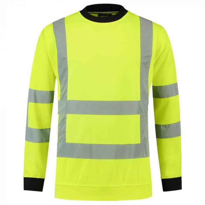 Sweater | Reflectie EN471 | Tricorp Workwear | 97TS-RWS Fluor geel