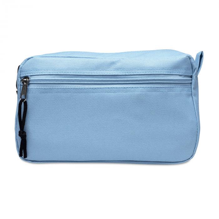 Make-up tasje met voorvakje1 | 8756822 Hemelsblauw