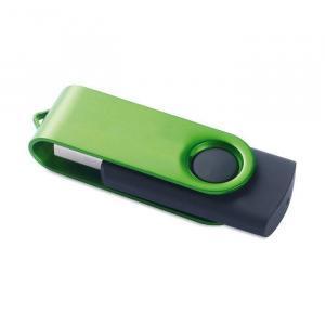 USB stick Rotodrive | Rubber/Metaal | 1-32 GB | NL8791101 Groen