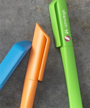 goedkoop pennen bedrukken bij Maxilia