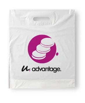 goedkoop plastic tassen bedrukken bij Maxilia