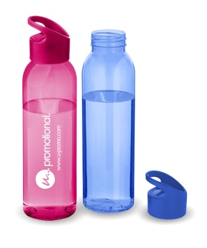 Plastic drinkflessen bedrukken bij Maxilia