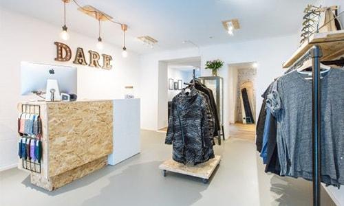 Zo maakt Dare Fashion reclame: stukje Scandinavië in Deventer