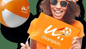 Oranje Ek promotieartikelen bedrukken Maxilia