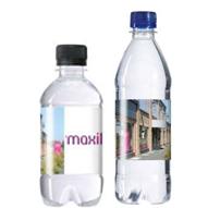 Plastic flesjes met dop