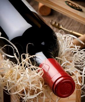 Wijnkisten 1 vaks