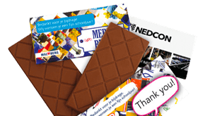 chocoladerepen bedrukken