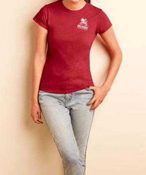 dames  t-shirts bedrukken