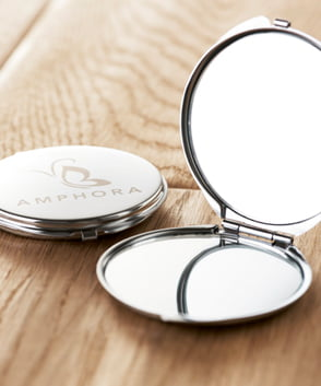spiegeltjes bedrukken