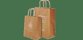 Papieren tassen bedrukken al vanaf 0 28 for Papieren zakken bedrukken